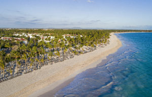Playa frente al Occidental Punta Cana